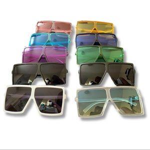 Colorful Oversized Sunglasses